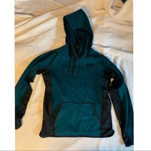 Under Armour forest green hoodie